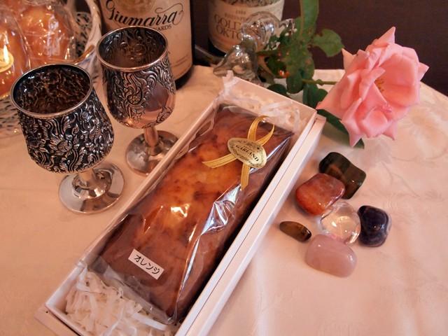 結婚式:パウンドケーキ
