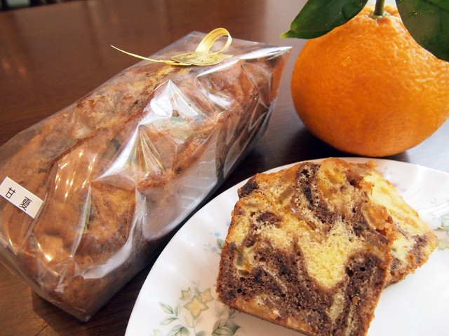 甘夏のパウンドケーキ