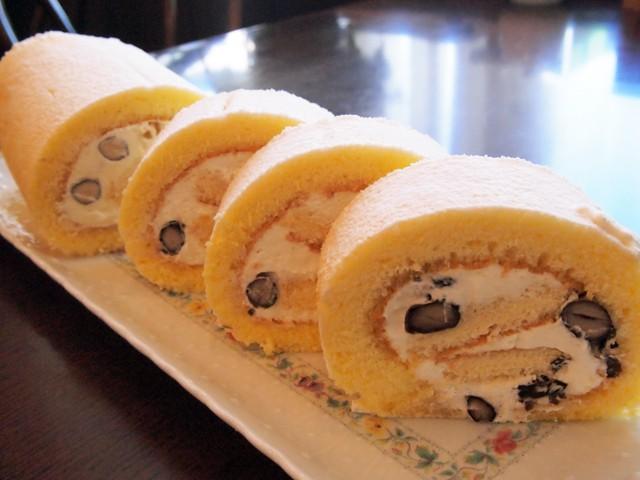ゆずのロールケーキ