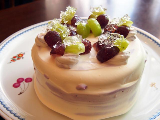あやかのぶどうケーキ