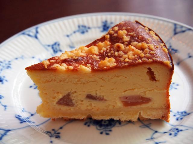クランブルチーズケーキ(柿)