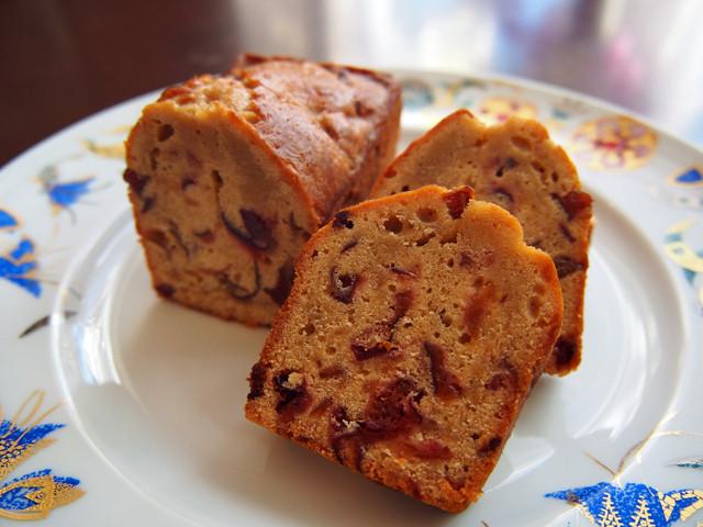 プルーンのパウンドケーキ