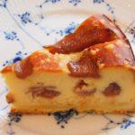 いちじくのベイクドチーズケーキ